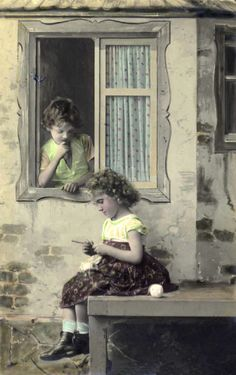 Adventures At Tiny Toadstool Cottage: Some Fun Vintage Knitting Images