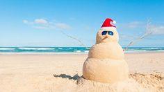 sand snowman :))
