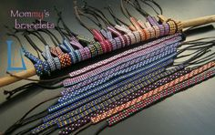 Glass beads worked to frame. Handmade by BarlumeManod'Opera's Mom.
