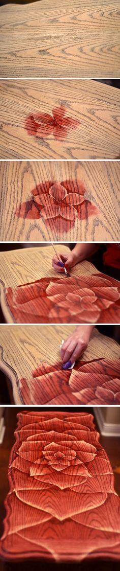 Flower Pattern Table