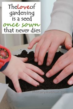 The #Love of #Gardening is a seed once sown that never dies.