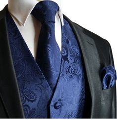 Brand Q Wedding Vest Set Navy Blue Paisley 3pcs Tuxedo Vest + Necktie + Handkerchief XXL Brand Q,http://www.amazon.com/dp/B0050BC0W0/ref=cm_sw_r_pi_dp_ADDwtb0R7SQKKFVH