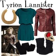"""""""Tyrion Lannister"""" by fandom-wardrobes on Polyvore"""