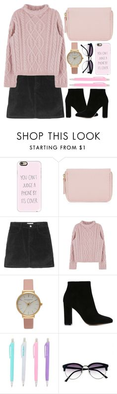 """""""Sem título #797"""" by andreiasilva07 ❤ liked on Polyvore featuring Casetify, Olivia Burton, Gianvito Rossi and Vince Camuto"""