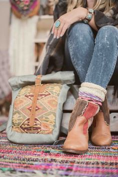 Kilim boots - Have you tried these handmade boho boots already?