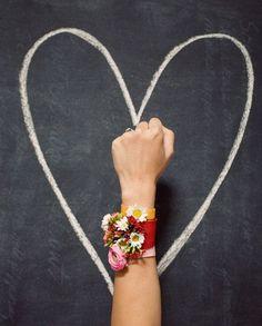 Oh Joy + Bash Please | Floral Friendship Bracelets | photo by Bonnie Tsang