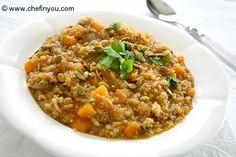 butternut squash and quinoa risotto