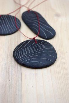 Ceramic pendant -