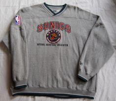 Vintage late-90s Seattle Seahawks Sweatshirt by Lee Sport. Men s XL (pre- 2ffe27e65