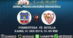 Bursa Taruhan Formentera vs Sevilla 01 Desember 2016 | Prediksi Judi Bola
