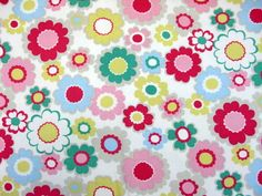 Cath+Kidston+Cotton+Canvas+Fabric+von+PurpleLydia+auf+DaWanda.com