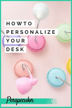 Bored of your boring desk? Personalize it with these cute finds!
