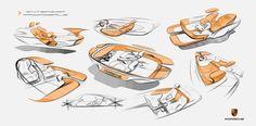 Awesome Porsche 2017: Porsche Fuel-Cell Vehicle Exterior Design 12...  Sketches/Renders Check more at http://carsboard.pro/2017/2017/02/28/porsche-2017-porsche-fuel-cell-vehicle-exterior-design-12-sketchesrenders/