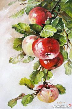 Watercolor Fruit, Watercolor Landscape, Watercolor Flowers, Water Lilies Painting, Fruit Painting, Watercolor Painting Techniques, Watercolour Painting, Watercolor Illustration, Color Pencil Art
