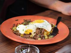 Beef and Potato Hash recipe from Valerie Bertinelli via Food Network