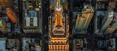 Hypnotic aerial photography of the Big Apple - The Chromologist