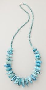 Chan Luu agate necklace