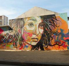 C215 dans sa ville de Vitry-sur-Seine