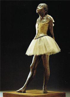 Маленькая танцовщица. Дега.
