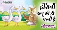 हंसिनी उल्लू की ही पत्नी है (बोध कथा / Inspiring Storie ) +++  आसाराम बापूजी ,आसाराम बापू , आशाराम बापू , सत्संग   #asharamjibapu ,#bapu, #bapuji ,#asaram, #ashram, #asaramji, #sant, #asharamji ,#asharam ,#mybapuji