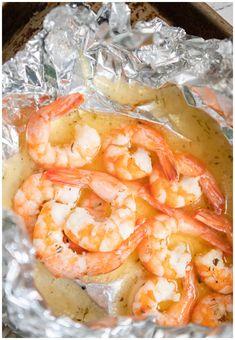 Shrimp Recipes For Dinner, Shrimp Recipes Easy, Seafood Recipes, Shellfish Recipes, Shrimp Dishes, Fish Dishes, Main Dishes, Grilling Recipes, Cooking Recipes