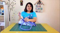Atelie Neide Camargo - Aplicando Ziper em Bolsa