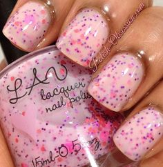 Design of the Manicure - cute picture