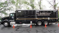 Mobile Incident Command Center Vehicles with the SyTech RIOS Radio Interoperability System.