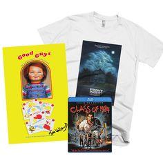 Killer Horror gifts at www.thterrortime.com #Horror #FrightNight #ChildsPlay