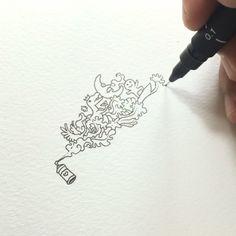 Spray paint 🏄