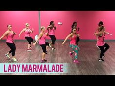 Christina Aguilera, Lil' Kim, Mya, Pink - Lady Marmalade (Dance Fitness with Jessica) Dance Workout Videos, Zumba Videos, Dance Videos, Dance Workouts, Cardio Dance, Pink Lady, Zumba Fitness, Dance Fitness, Christina Aguilera