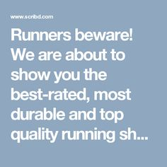 Best Shoes For Bunions, Best Rated, Best Running Shoes, Runners, Top, Hallways, Top Running Shoes, Best Running Sneakers, Joggers