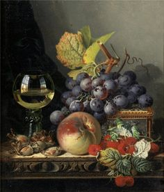 Best fruit basket painting still life art 33 Ideas Fruit Basket Drawing, Still Life Fruit, Fruit Painting, Old Paintings, Painting Still Life, Fruit Art, Still Life Photography, Ancient Art, Collages