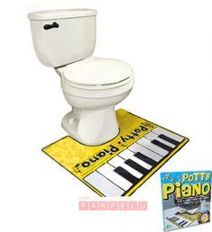 Piano Putty pour salle de bain | acceuil