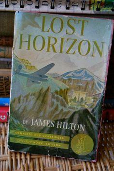 Lost Horizon story of Shangri La by James Hilton 1942 Pocket Book edition