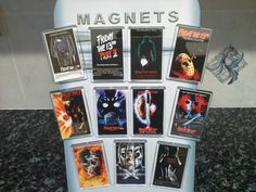 Friday The 13th Fridge Magnet. Choice of Film Poster Design.