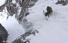 Extreme Skier Giulia Monego Skis Big Lines in La Grave, France – Turns