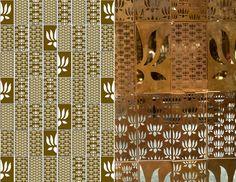 Inspirational metal lotus jali design
