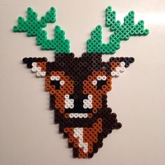 Deer hama beads by 14pipper