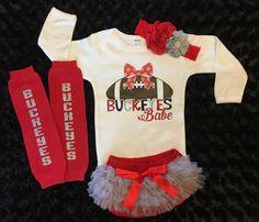 Ohio state baby, Ohio state buckeyes, Ohio State onesie, Buckeye Baby, OSU