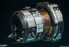 ArtStation - Edge Case Games - module design, Mike Hill