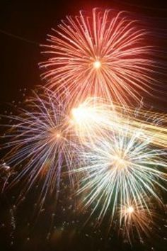 Watching Fireworks in Coeur d'Alene along beach behind North Idaho College thisweektourism.com
