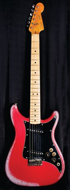 The original Hard Rock memorabilia item-Eric Clapton's Fender Lead II guitar.
