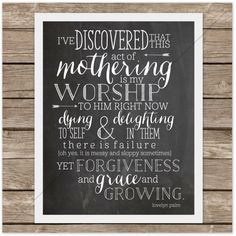 I've discovered that this act of mothering is my worship to Him right now. Dying to self and delighting in them. There is failure (and yes, it is messy and sloppy sometimes), yet forgiveness and grace and growing. @Lovelyn Palm #motherhood #adoption
