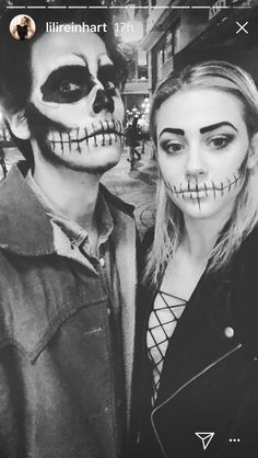 Cole and Lili on Halloween