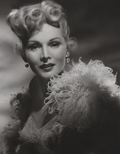 Zsa Zsa Gabor 1952..hard to find picture of her!!