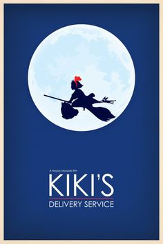 Kiki's Delivery Service. I watched this obsessively when I was a kid!!!