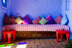 Traditional Moroccan Living Room Salon marocain traditionnel ห้องนั่งเล่นสไตล์โมร็อกโก