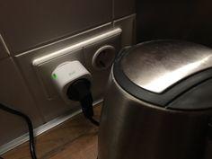 Eve Energy Plug für Automatisierung mit HomeKit und Remote Fernsteuerung, Trigger und Szenen für Steckdosen lassen sich komplett aus der Ferne beeinflussen.