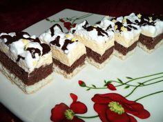 Reteta Prajitura fina cu nuca de cocos si crema de vanilie - Prajituri